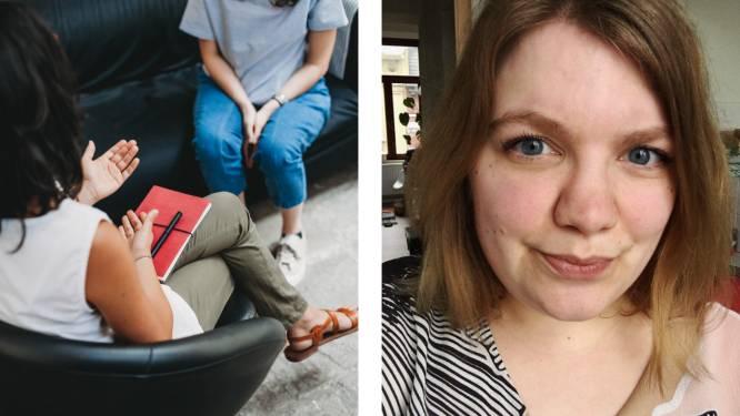 """Therapie blijft voor veel Belgen onbetaalbaar, met zware gevolgen. Evelien (30): """"Ik krijg 120 euro per jaar terugbetaald. Daar ben ik 1 maand mee geholpen"""""""