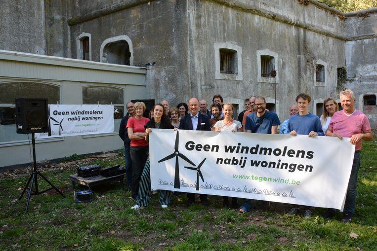 Het actiecomité Tegenwind voerde fel actie tegen de komst van het windmolenpark, tevergeefs. Een beroepsprocedure bij de Raad voor Vergunningsbetwistingen is een laatste mogelijkheid.