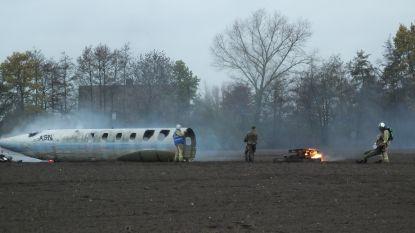 Deinse hulpdiensten en Belgisch leger oefenen vliegtuigcrash aan Surfput Florizoone
