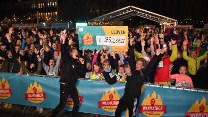 Warmathon in Leuven brengt 95.287 euro op