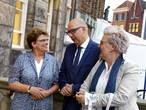 Een uur na verlossende telefoontje stond burgemeester Mikkers al voor Bossche gemeenteraad
