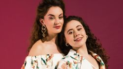 """""""Actrices hebben minder tekst en die gaat vaak over trouwen, mannen en kinderen, mag het ook eens over iets anders a.u.b.?"""" Violet Braeckman & Sofia Ferri nu in NINA"""