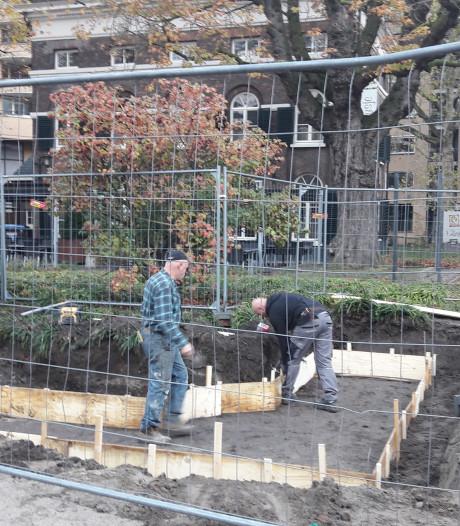 Bouw 'kasteelmuur' in Eindhoven van start