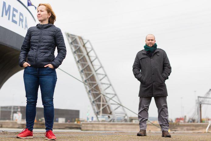 Svetlana Samsonova en Jan Steckel geloven rotsvast in autonome binnenvaart.