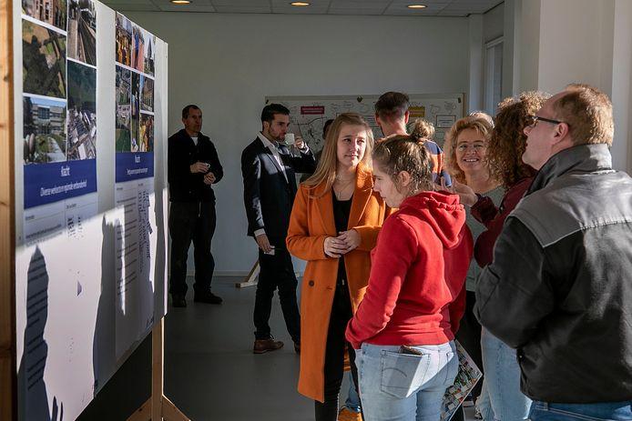 Bij een pop-upkantoor in Leende kunnen inwoners hun ideeën kwijt over hoe de gemeente in de toekomst er uit zou moeten zien.