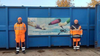 """Week van de Afvalophaler en Recyclageparkwachter: """"Een man bracht zelfs cake mee"""""""