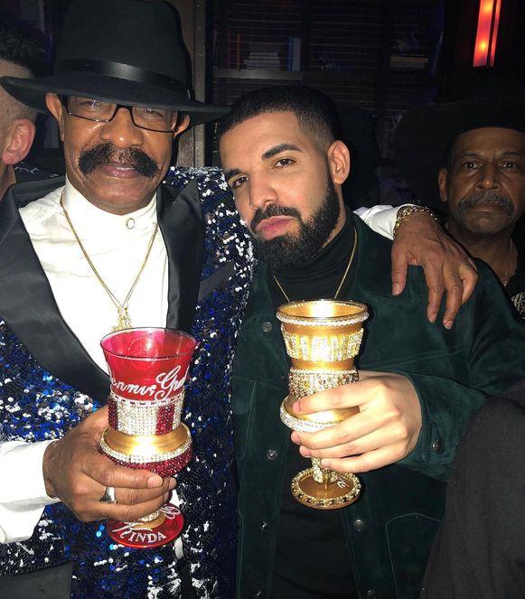 Drake en zijn vader, Dennis Graham