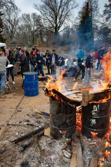 Kampen focust op vreugdevuren bij jaarwisseling