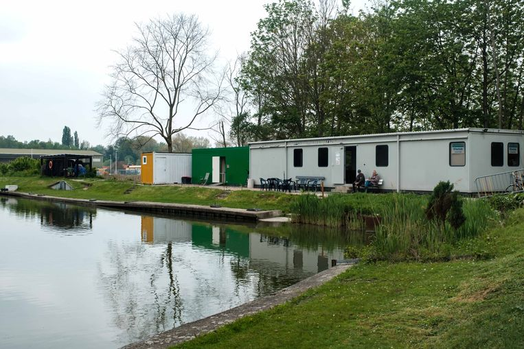 Het visvijvergebied in Niel.