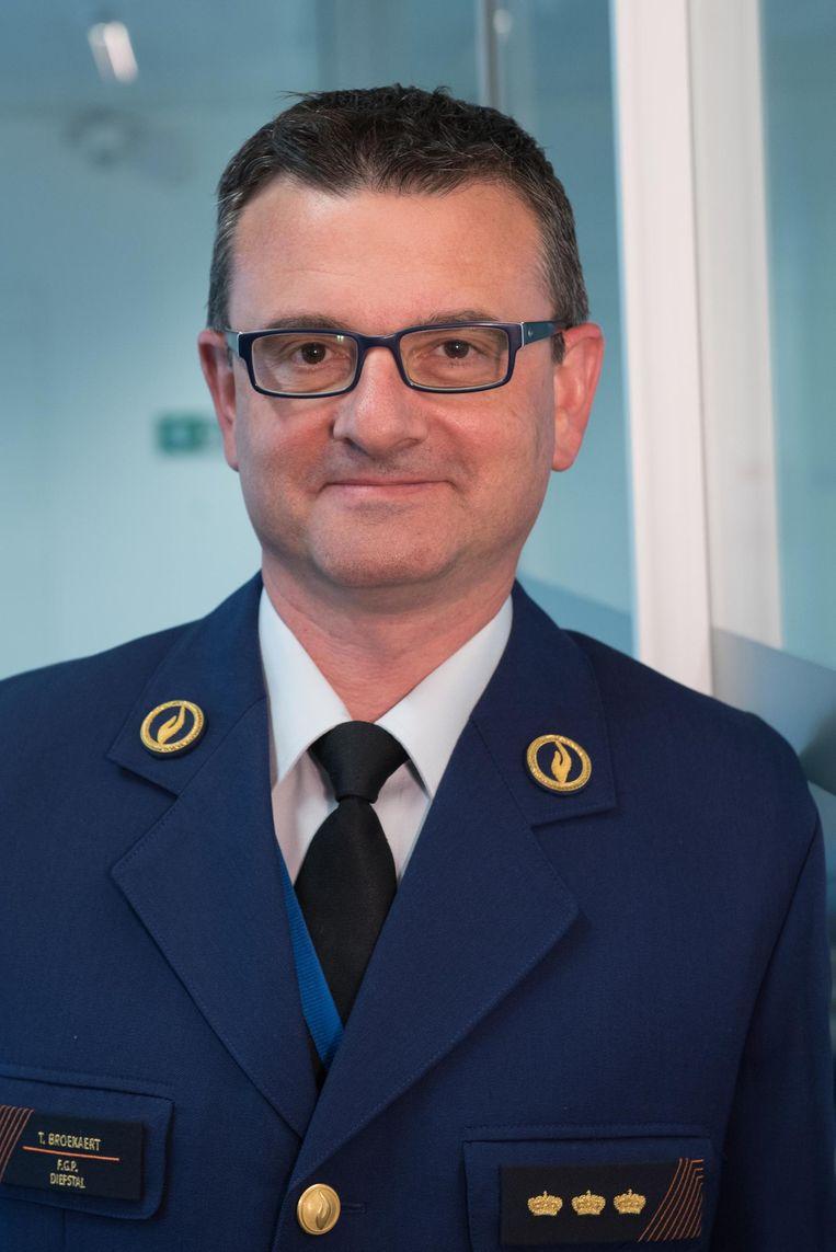 De nieuwe zonechef van Brakel-Horebeke-Maarkedal-Zwalm, Tom Broekaert.