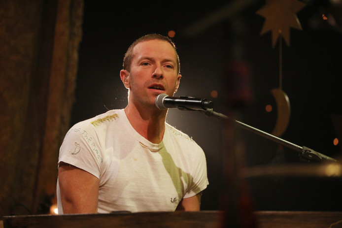 Chris Martin, le leader de Coldplay.