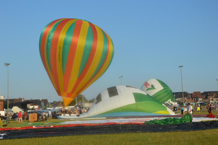 Alle ballonnen konden veilig opstijgen en landen.