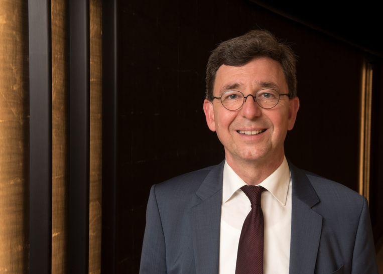 Wim Kuiper is bezig aan zijn laatste week als voorvechter van de katholieke en protestantse scholen in Nederland. Beeld rv