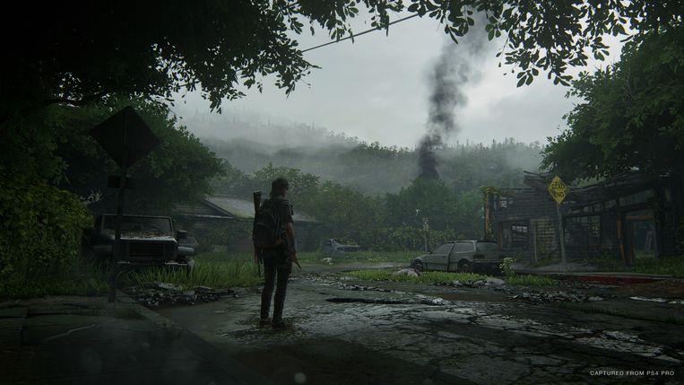 Scène uit 'The Last of Us Part II'.
