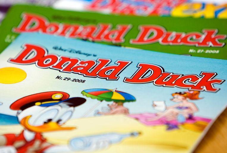 Sanoma Nederland is onder meer uitgever van Donald Duck. Beeld ANP