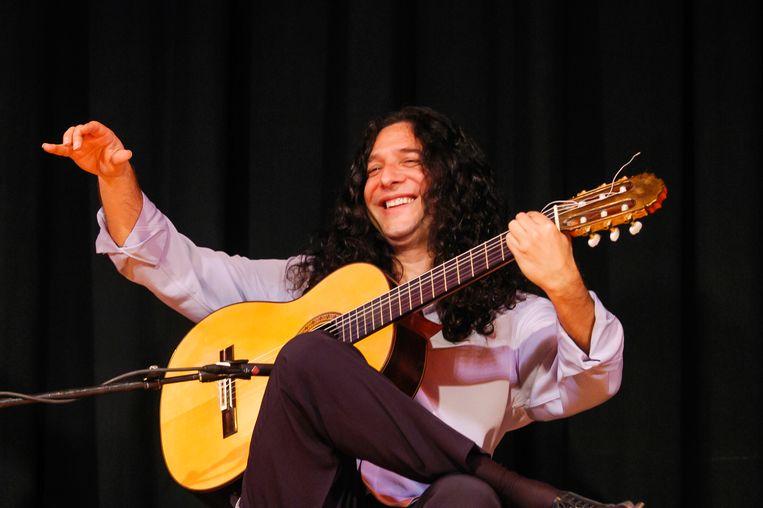 Flamenco-gitarist Tomatito Beeld Getty Images