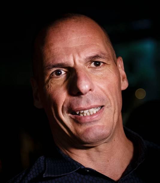De Griekse minister van Financiën, Yanis Varoufakis