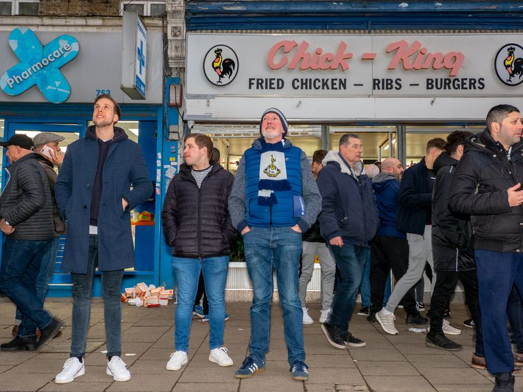 Spurs-fans Beeld Getty Images