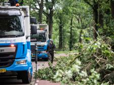Aantal wegen op de Posbank weer open voor verkeer