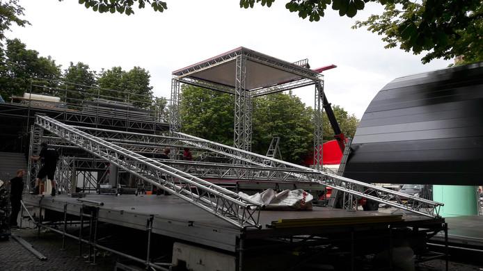 Theaterfestival Boulevard wordt afgebouwd