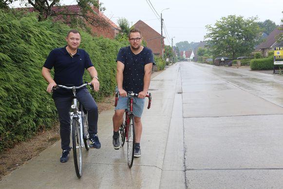 Peter Reekmans en Simon Vandermeulen.