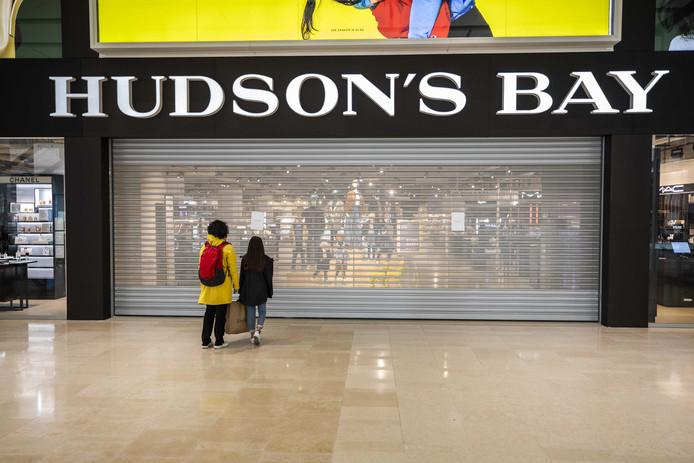 De vestiging van Hudson's Bay in Utrecht gaat 31 december dicht