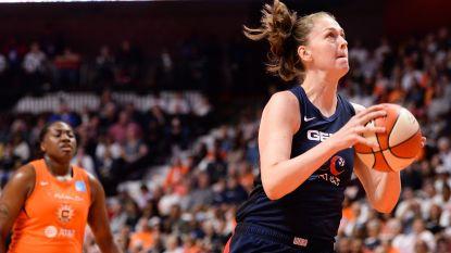 Emma Meesseman blinkt uit in WNBA Finals: ze leidt Mystics met 21 punten naar uitzege
