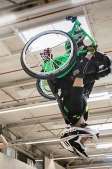 Voltooien van salto met rolstoel lukt Kevin van Ekert uit Veldhoven nog nét niet