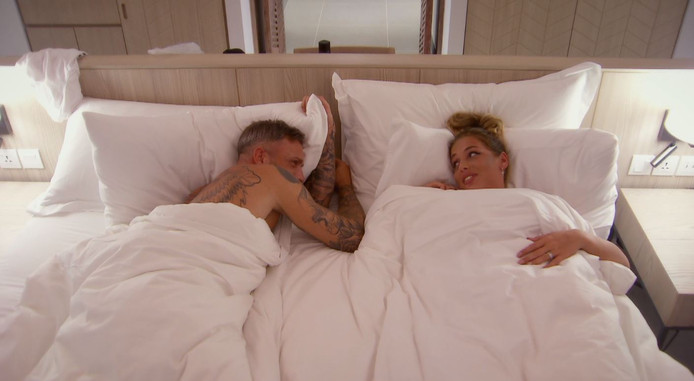 Shirley en Joris in Temptation Island VIPS.