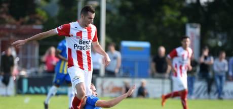 Tiebosch keert zonder profdebuut bij TOP Oss terug in het amateurvoetbal: 'Geloof dat ik het had aangekund'