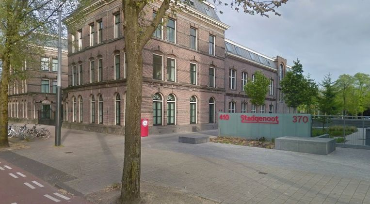 Het kantoor van Stadgenoot aan de Sarphatistraat in Amsterdam.