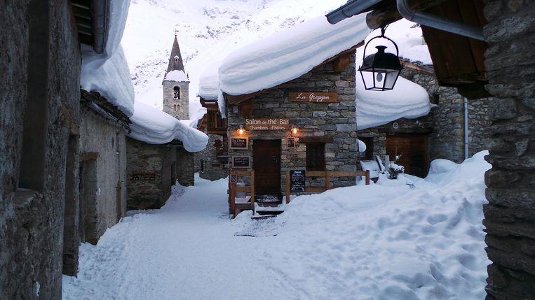 Gîte en café La Greppa in Bonneval. Beeld Joseph Jeanmart