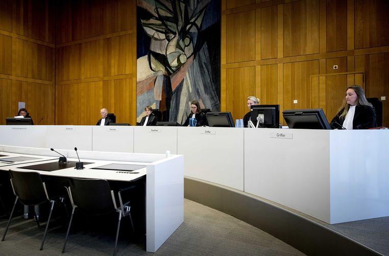 De Arnhemse rechtbank voor aanvang van de regiezitting voor het hoger beroep van Michael P. Beeld ANP