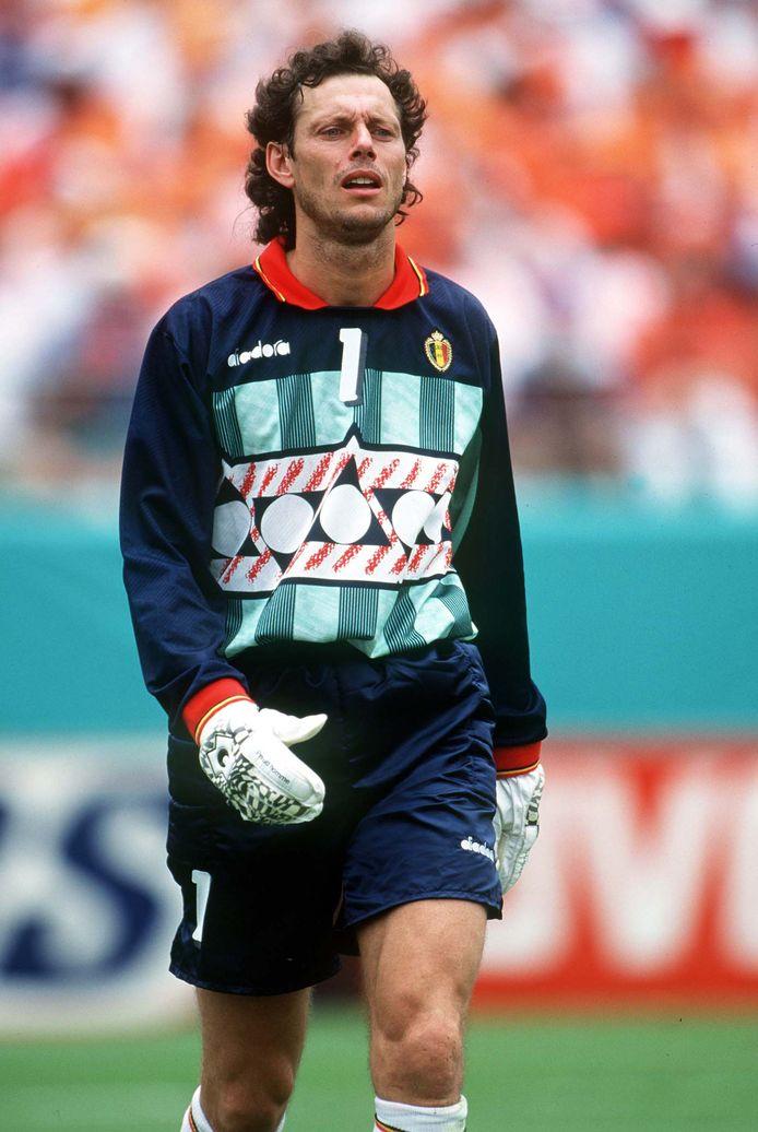 Michel Preud'homme au Mondial 94.