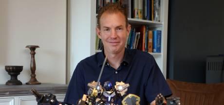 Heinrich uit Clinge wil Zeeuws-Vlaamse kinderen robots leren bouwen: 'Iedereen kan het'