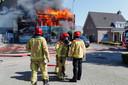 Brand bij Lealti in Middelbeers.