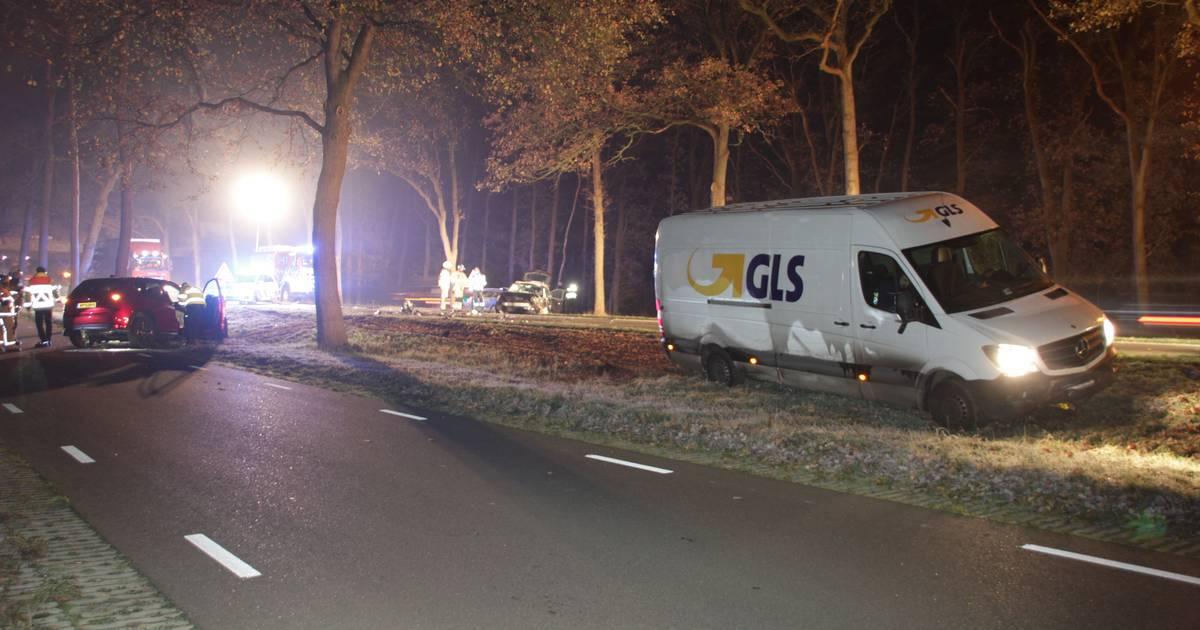 File door ernstig ongeval tussen Almelo en Zwolle.