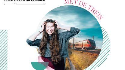 'De eerste keer na corona': redactrice Stéphanie (27) neemt opnieuw de trein en dat voelt een beetje vies