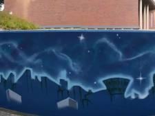 Grauw beton in centrum Enschede wordt kunst