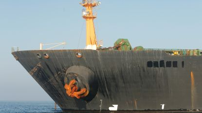 VS eisen inbeslagname Iraanse olietanker Grace 1