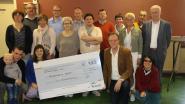 Vriendenkring Verheylesonne schenkt 750 euro aan Kinderkankerfonds