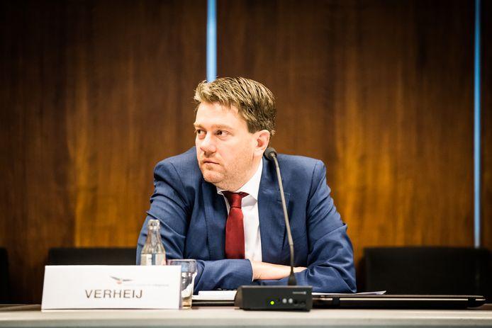 PVV-fractieleider Coen Verheij.