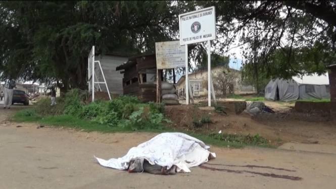 Zeven mensen geëxecuteerd in Burundese bar