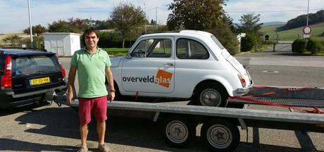Bredanaar Stan Schellekens heeft zijn in Italië gestolen Fiatje weer terug