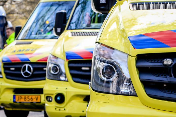 Ambulances zorgen er voor dat medische hulp snel aanwezig is