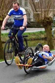 'Strijder voor strijders' gaat met een handbike de Alpe d'Huez op