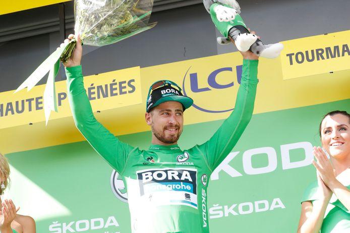 Pour l'instant, Erik Zabel partage encore le record du nombre de maillots verts ramenés à Paris avec Peter Sagan. Mais, sauf accident, dimanche prochain, le Slovaque sera tout seul en haut de ce classement-là.