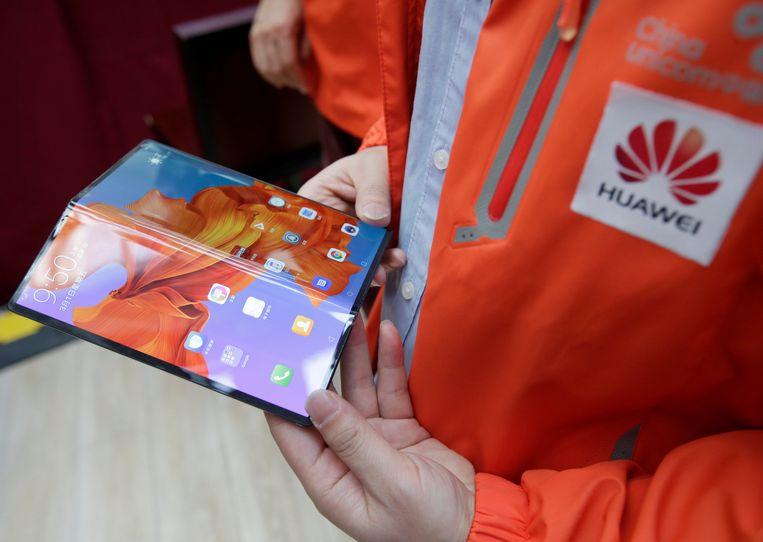De Huawei Mate X  Beeld REUTERS