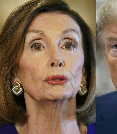 Pelosi wil haast maken met afzettingsprocedure tegen Trump