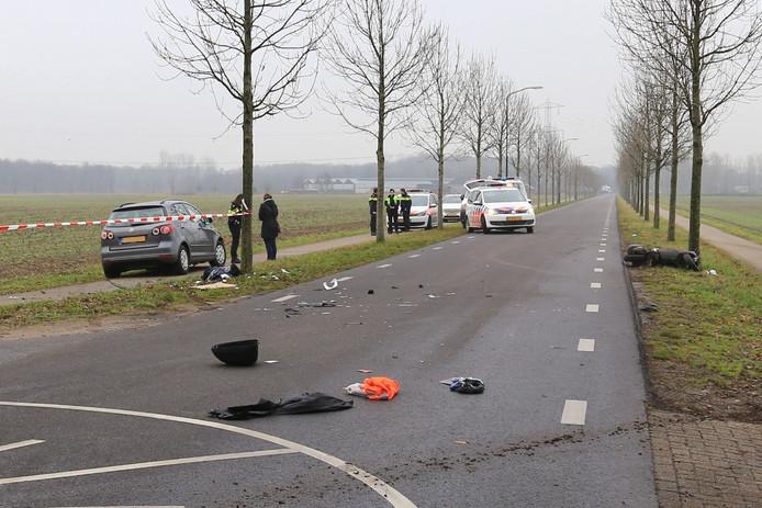 Ongeval op Broekweg in Beek en Donk